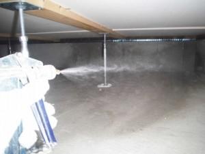 床下部分(土壌処理)